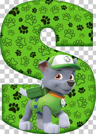 Letter Alphabet Patrol Birthday Dog PNG