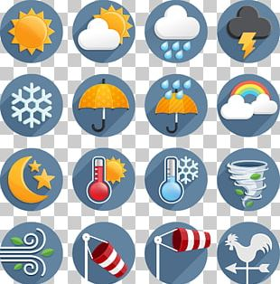 Weather Forecasting Wind Icon PNG