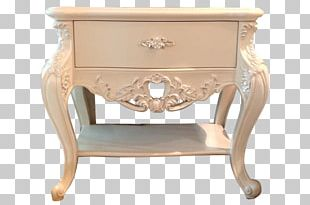 Bedside Tables Furniture Drawer Chair PNG