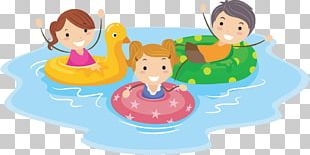 Swimming Pool Cartoon Child PNG