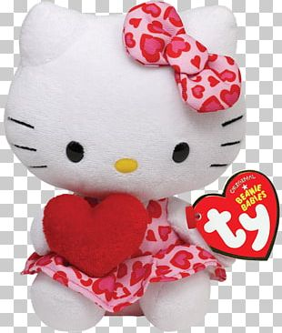 Hello Kitty Ty Inc. Beanie Babies Stuffed Animals & Cuddly Toys PNG