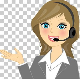 Call Centre Cartoon Customer Service Stock Photography PNG