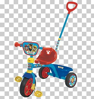 Motorized Tricycle Toy Paw Patrol 6V Battery Operated Mini Quad Child PNG