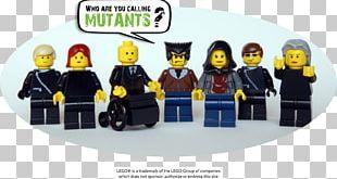 LEGO Professor X X-Men Nightcrawler Deadpool PNG