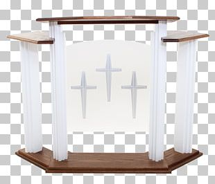 Table Pulpit Furniture Church Altar PNG