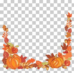 Thanksgiving Autumn Leaf Color PNG