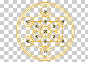 Metatron's Cube Photography PNG