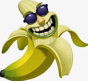 Hd Funny Funny Expression Bananas PNG