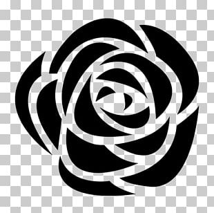 Computer Icons Black Rose PNG