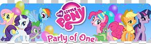 My Little Pony: Friendship Is Magic Pinkie Pie Twilight Sparkle Rainbow Dash Rarity PNG