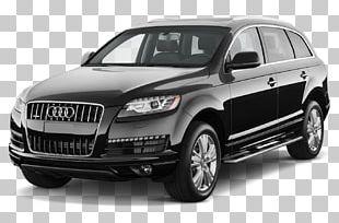 2012 Audi Q7 Car 2015 Audi Q7 Sport Utility Vehicle PNG