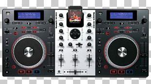 Numark Mixdeck Express Disc Jockey Audio DJ Controller PNG