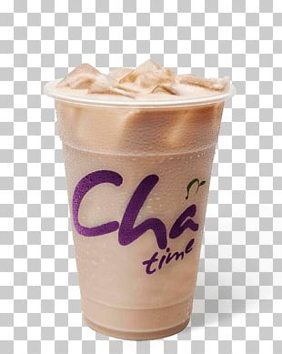 Bubble Tea Iced Tea Milk Chatime PNG