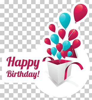 Birthday Cake Greeting Card Gift PNG