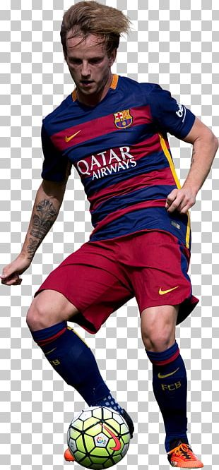 Ivan Rakitić 2015–16 FC Barcelona Season 2016–17 La Liga Jersey PNG