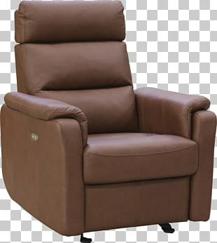 Recliner Wing Chair Couch Foot Rests PNG