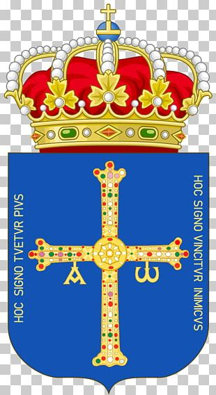 Kingdom Of Asturias Victory Cross Coat Of Arms Of Asturias Coat Of Arms Of Spain PNG