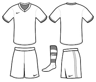 T-shirt Jersey Kit Football Template PNG
