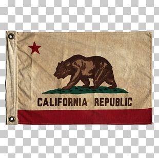 California Republic Flag Of California State Flag PNG