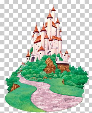 Sleeping Beauty Castle Cartoon PNG