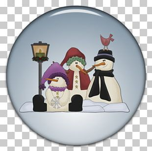 Winter Snowman Animation PNG