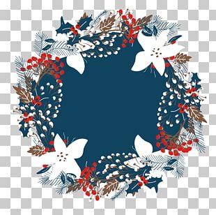 Christmas Wreath Illustration PNG