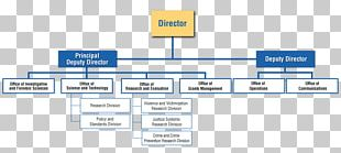 Organizational Chart Diagram National Institute Of Justice PNG
