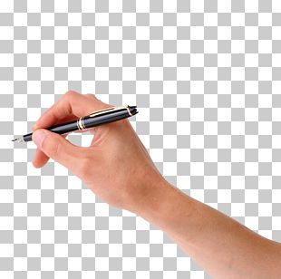 Pen Paper Hand Drawing PNG