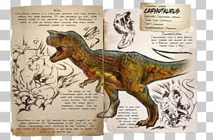 ARK: Survival Evolved Carnotaurus Giganotosaurus Dinosaur Allosaurus PNG