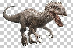 Tyrannosaurus Velociraptor Indominus Rex Giganotosaurus Mosasaurus PNG