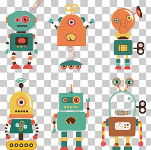 Robot Illustration PNG