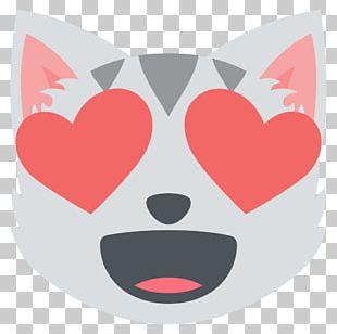Emoji Cat Felidae Kitten Eye PNG