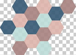 Hexagon AB Angle Pattern PNG