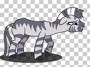 Horse Donkey Mule Zebra Cartoon PNG