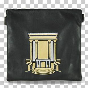 Handbag Tefillin Leather Temple In Jerusalem PNG