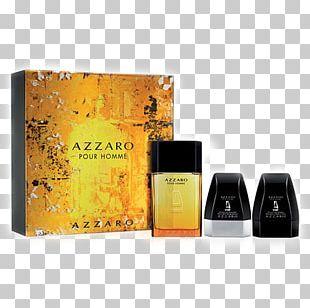 Perfume Azzaro Pour Homme Eau De Toilette Deodorant Parfumerie PNG