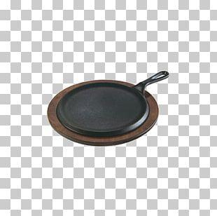 Frying Pan Fajita Cast Iron Griddle Metal PNG