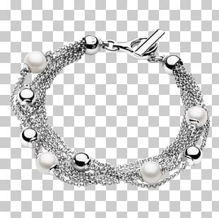 Earring Bracelet Jewellery Necklace Silver PNG