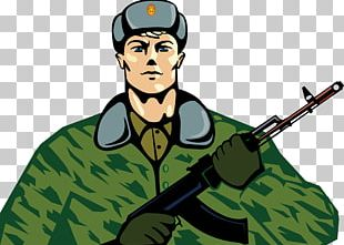 Russia Defender Of The Fatherland Day Soldier Holiday Ansichtkaart PNG