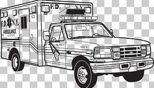 Car Ambulance Truck Bed Part Commercial Vehicle PNG
