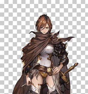 Granblue Fantasy Character Game Art Black Knight PNG
