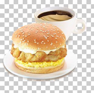 Breakfast Sandwich KFC Cheeseburger Fast Food Veggie Burger PNG