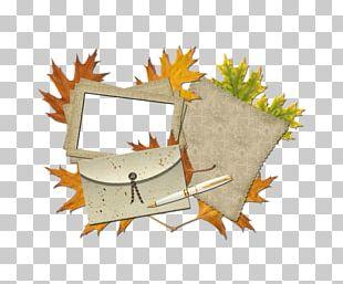 Border Frame Leaf PNG