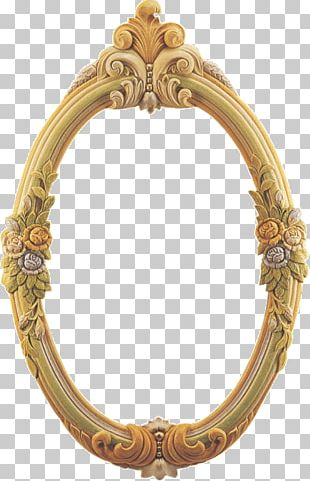 Frames Mirror Gold PNG