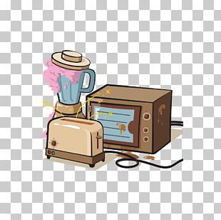 Home Appliance Microwave Oven Washing Machine Illustration PNG