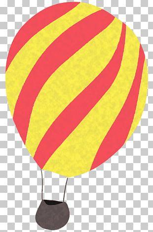 Hot Air Ballooning Design Illustration PNG