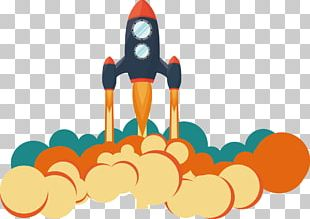 Rocket Launch Flight PNG