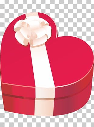 Box Gift Paper Heart PNG