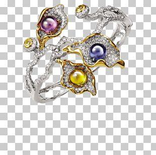 Diamond Ring Sapphire Jewellery Bracelet PNG