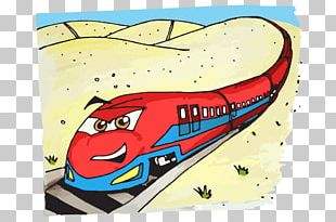 Rail Transport Train Drawing Steam Locomotive High-speed Rail PNG